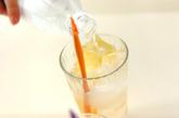 ショウガと梅酒のジンジャーエールの作り方2