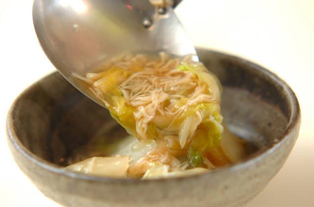 優しい味!白菜のホタテ煮の作り方の手順4