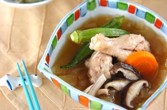 手羽元のスープ煮