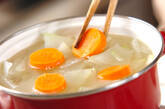手羽元のスープ煮の作り方2