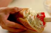 クリーミーポテトサラダサンドの作り方2