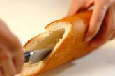 クリーミーポテトサラダサンドの作り方1