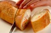 クリーミーポテトサラダサンドの作り方3