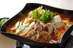 鶏鍋~ゴマ鍋~担々麺風そば