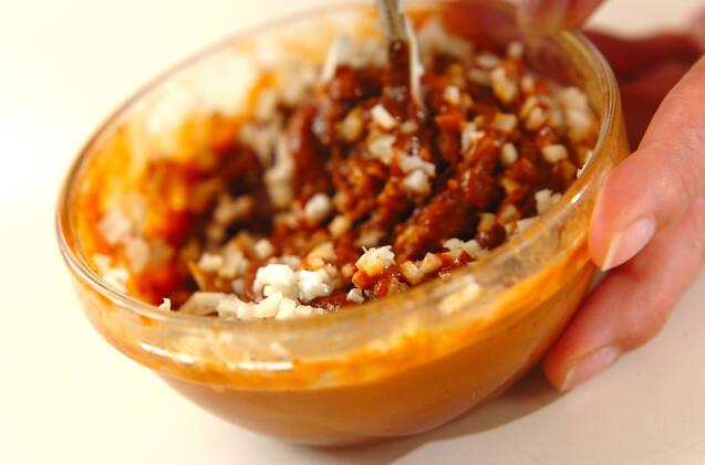 鶏鍋~ゴマ鍋~担々麺風そばの作り方の手順7