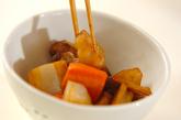 豚肉入り根菜のきんぴらの作り方2