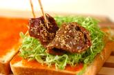 焼き肉サンドの作り方3