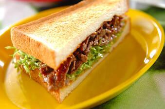 焼き肉サンド