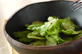 サッパリグリーンサラダ