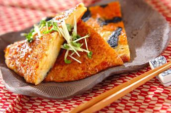 ジャガイモののりチーズ焼き