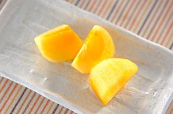 柿のリキュール風味