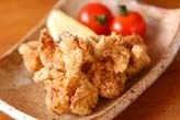 鶏軟骨のコリコリ揚げ