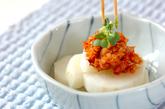 ゆで長芋のピリ辛和えの作り方2