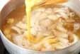 豆腐のかきたま汁の作り方2