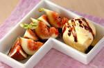 イチジクのバルサミコ風味デザート