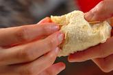 肉ジャガと油揚げのコロッケ風の作り方5