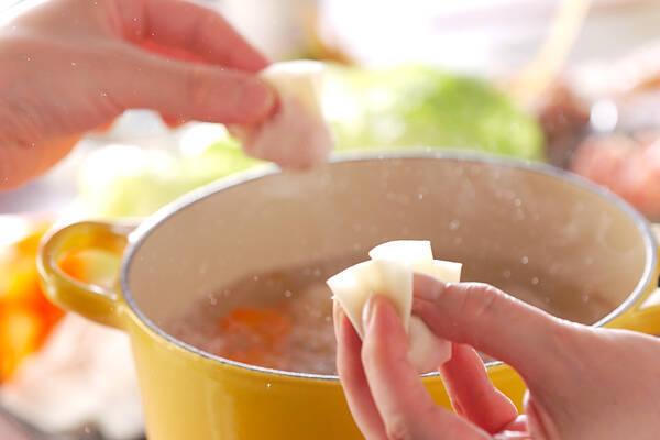 餃子鍋の作り方の手順7