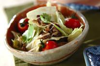 薄切り砂肝のサラダ