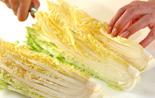 白菜とチンゲンサイの中華クリーム煮の作り方1