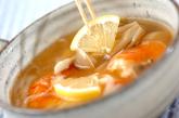 エビのエスニックスープの作り方2