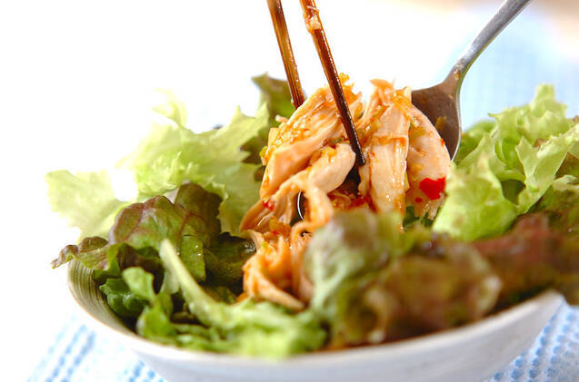ささ身のピリ辛サラダの作り方の手順6