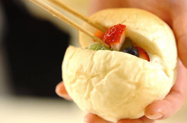 フルーツヨーグルトクリームパンの作り方の手順13