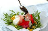 カブのレンジ蒸しサラダの作り方5