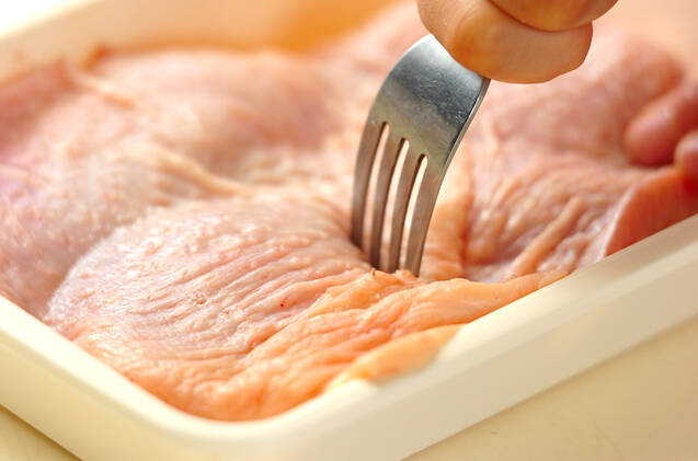おろしダレがけ塩焼き鶏の作り方の手順1