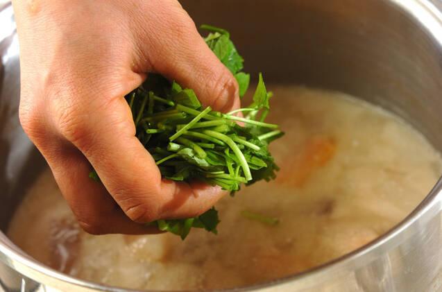 野菜のあったか粕汁の作り方の手順6