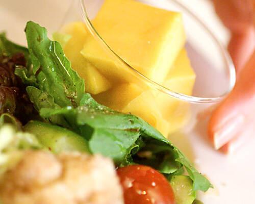 たっぷりサラダプレートの作り方の手順10