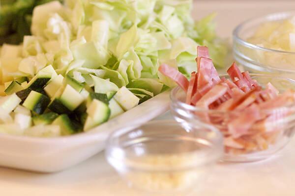 たっぷりサラダプレートの作り方の手順4