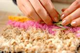 そぼろご飯のり巻きの作り方3
