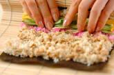 そぼろご飯のり巻きの作り方4