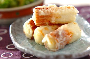 お弁当やおつまみに!チーズ入りちくわの天ぷら