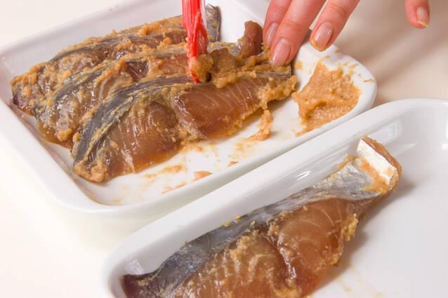サワラのみそ漬焼きの作り方の手順1