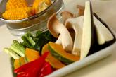 いろいろ網焼き野菜の下準備1
