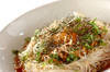 ネバネバ!さっぱりオクラ納豆のぶっかけ素麺の作り方の手順