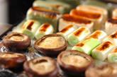 焼き生麩のカニあんかけの作り方1