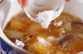 シイタケ肉ジャガの作り方3