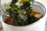 豆腐とワカメのお吸い物の作り方4