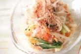 モヤシのカラフルサラダ