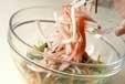 モヤシのカラフルサラダの作り方2