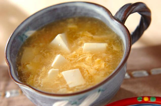 豆腐とたまごのスープ