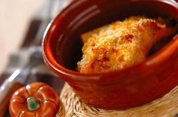 カボチャのオーブン焼き