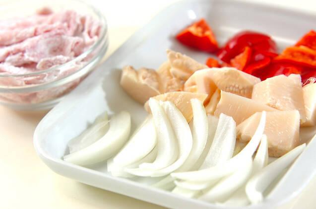 豚肉の南蛮漬けの作り方の手順1