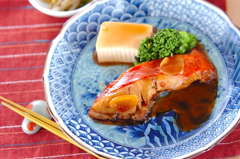 金目鯛のシンプルな煮付け