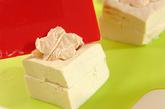 チーズめんたい揚げだし豆腐の作り方2