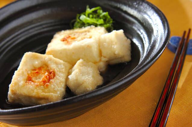 チーズめんたい揚げ出し豆腐