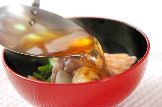 おすましのお雑煮の作り方の手順6
