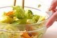 春キャベツのカラシ和えの作り方の手順6
